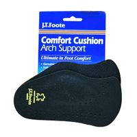 JT Foote Extra Large Comfort Cushion Arch Support Inserts