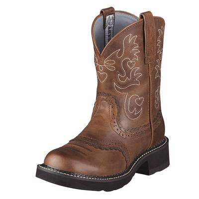 Ariat Fatbaby Rebel Russet Cowgirl Boots
