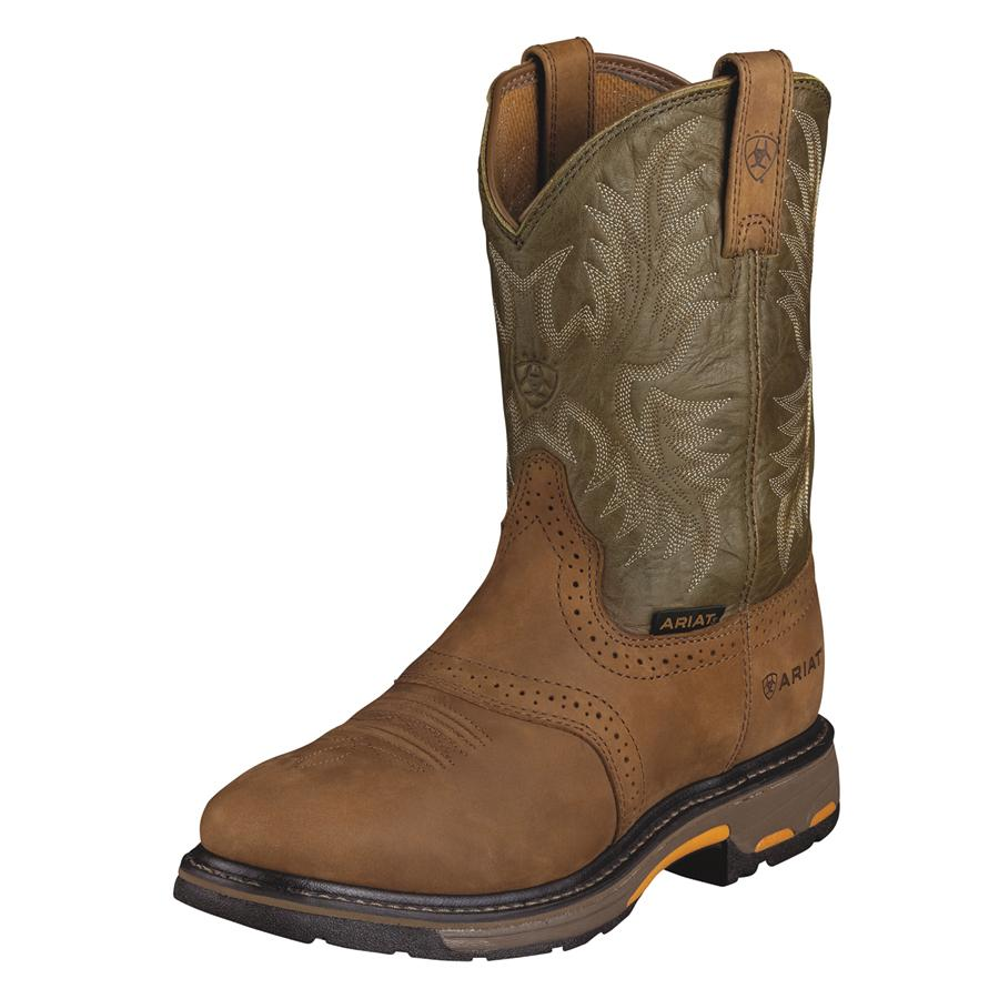 ariat workhog pull on mens work boots