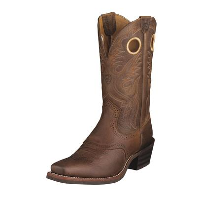 Ariat Heritage Roughstock Square Toe Cowboy Boots