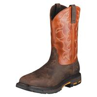 Ariat Workhog Square Toe Tall Shaft Mens Work Boots
