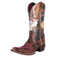 Ariat Pink & Sassy Soule Cowgirl Boots