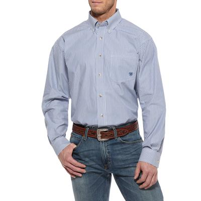 Ariat Mens Balin Long Sleeve Button Down Shirt