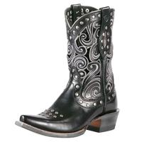 Ariat Paloma Black Cable Cowgirl Boots