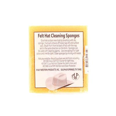 M&F Western Felt Hat Cleaning Sponge