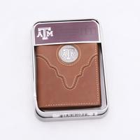 TX A+M Tri-Fold Wallet