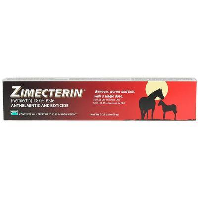 Merial Zimecterin Horse Dewormer Paste