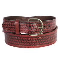 D&D Mens Taper Basketweave Belt