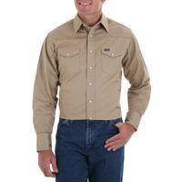 Wrangler Cowboy Cut Mens Snap Work Shirt