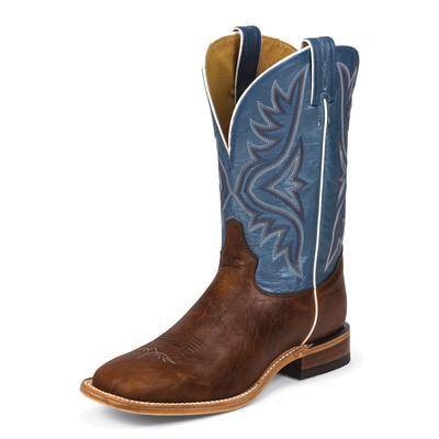Tony Lama Pecan Bison Cowboy Boots