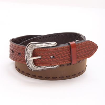 Roper Mens Crazy Horse Leather Belt