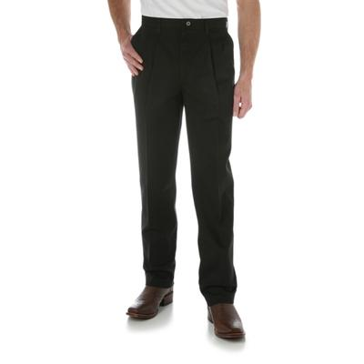 Wrangler Mens Riata Pleated Front Casual Pants