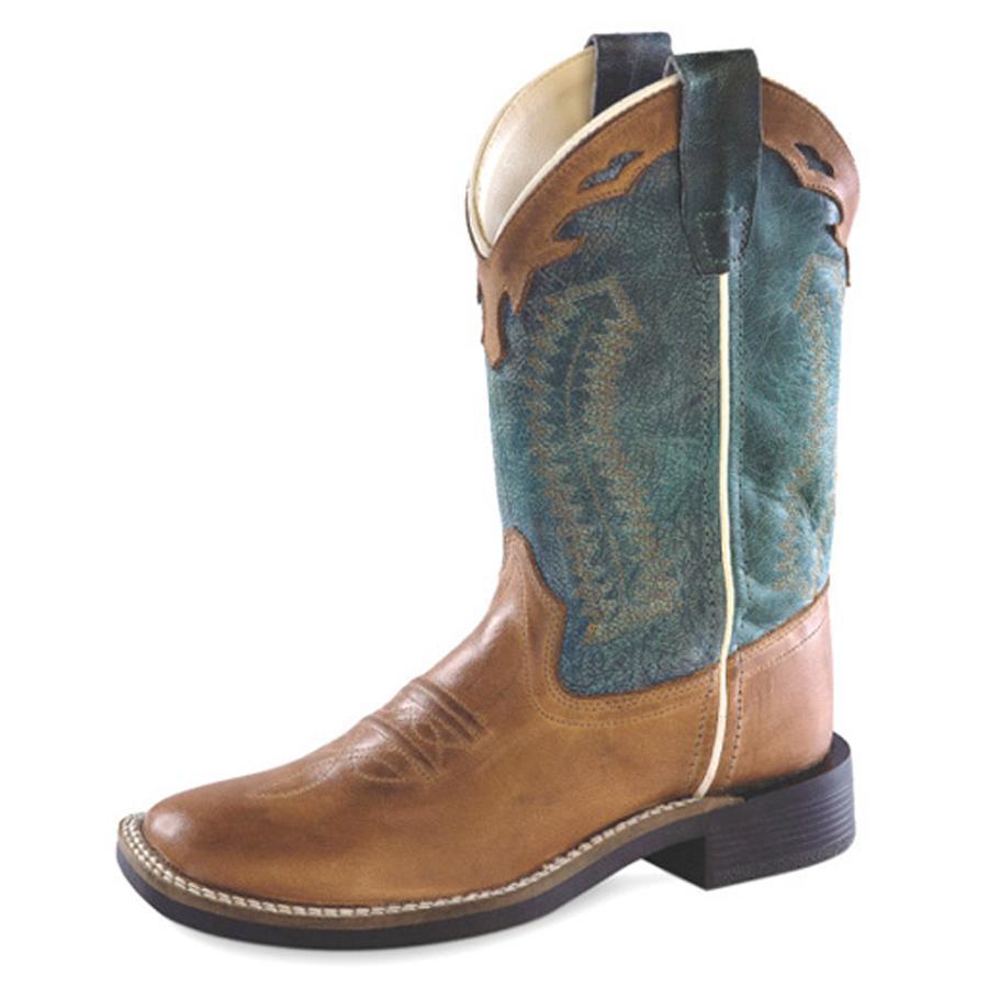 Old West Barnwood Vintage Kids Western Boots | D&D