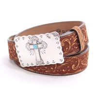 Justin Sedona Womens Cross Belt
