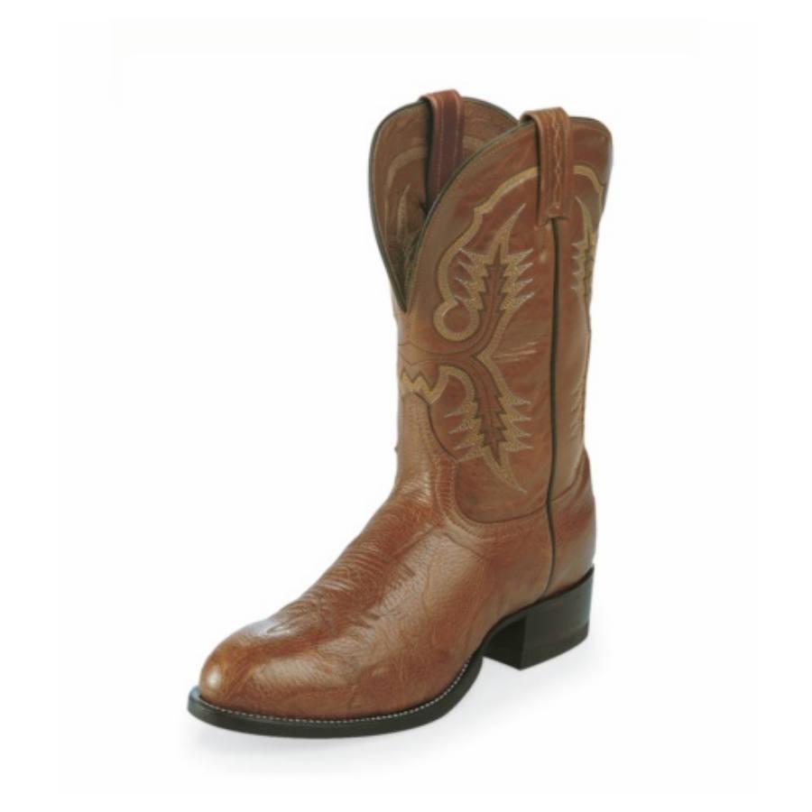 6129c64fd13 Tony Lama Aztec Shrunken Shoulder Stockman Boot