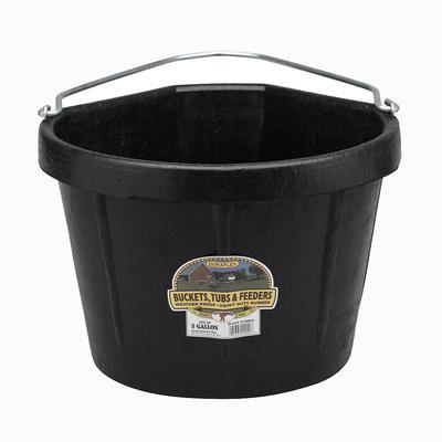 Miller Mfg. Duraflex Rubber 5 Gallon Corner Bucket
