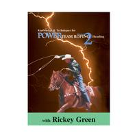 Power Team Roping Method 2 Heading DVD