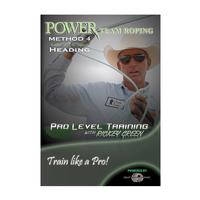 Power Team Roping Method 4 Heading DVD
