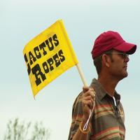 Cactus Ropes Team Roping Flag