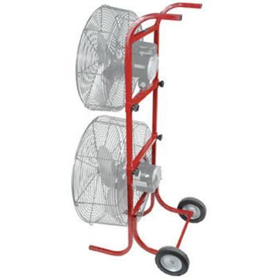Dual Fan Stand Truck