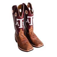 Anderson Bean Maroon Texas A&M Cowboy Boots