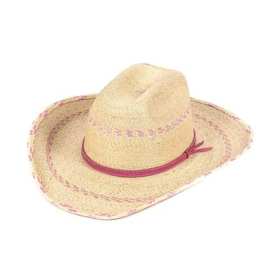 Atwood Kids Palm Pink Pinto Cowboy Hat