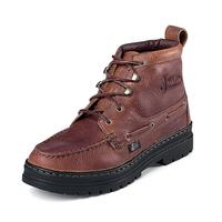 Justin Rustic Cowhide Chukka Womens Work Boots