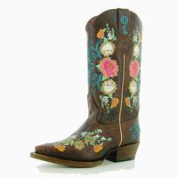 Macie Bean Antique Rose Garden Kids Cowgirl Boots