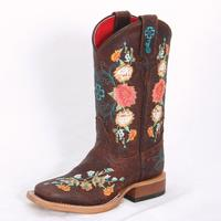 Macie Bean Sweet Sixteen Kids Cowgirl Boots