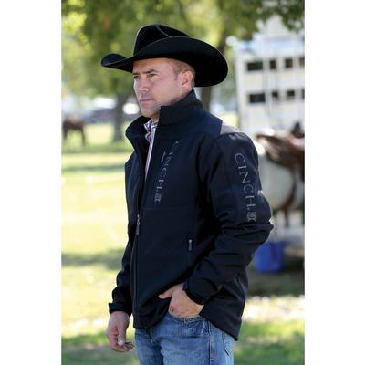 Cinch Men's Black Bonded Jacket
