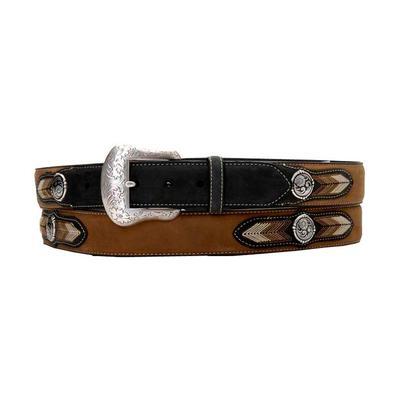 Nocona Mens Woven Arrow Belt