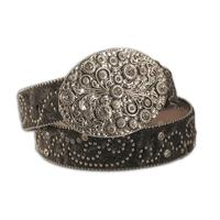 Nocona Black Crystal Womens Belt