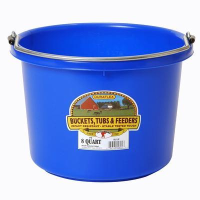 Miller Mfg. Little Giant 8 Qt. Plastic Bucket, Blue