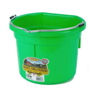 Miller Mfg. Little Giant 8 Qt. Flat Back Bucket, Assorted Colors