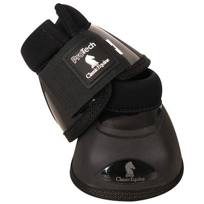 Classic Equine Pro Tech Bell Boots BLACK