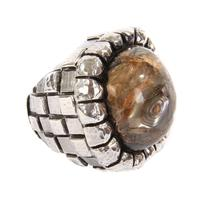 Dian Malouf Large Nugget Ring