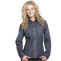 Double D Ranch Wear Womens Sprint Rider Shirt