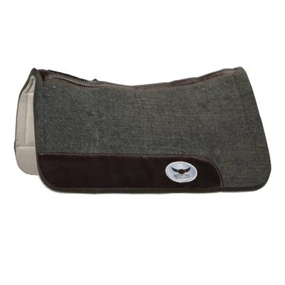 Cactus Saddlery Trevor Brazile Relentless Orthopedic Gel Pad, Grey