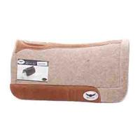 Cactus Saddlery Trevor Brazile Relentless Orthopedic Gel Pad, Tan