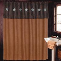 Laredo Luxury Rustic Shower Curtain Set
