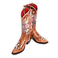 Macie Bean Rose Garden Cowgirl Boots
