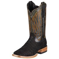 Ariat Mens Nitro Black Caiman Belly Cowboy Boots
