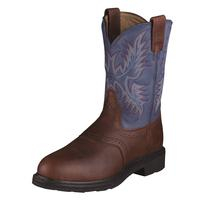 Ariat Mens Sierra Saddle Round Steel Toe Boots