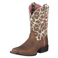 Ariat Quickdraw Brown Youth Boots