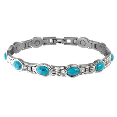 Sabona Ladies Turquoise Magnetic Bracelet