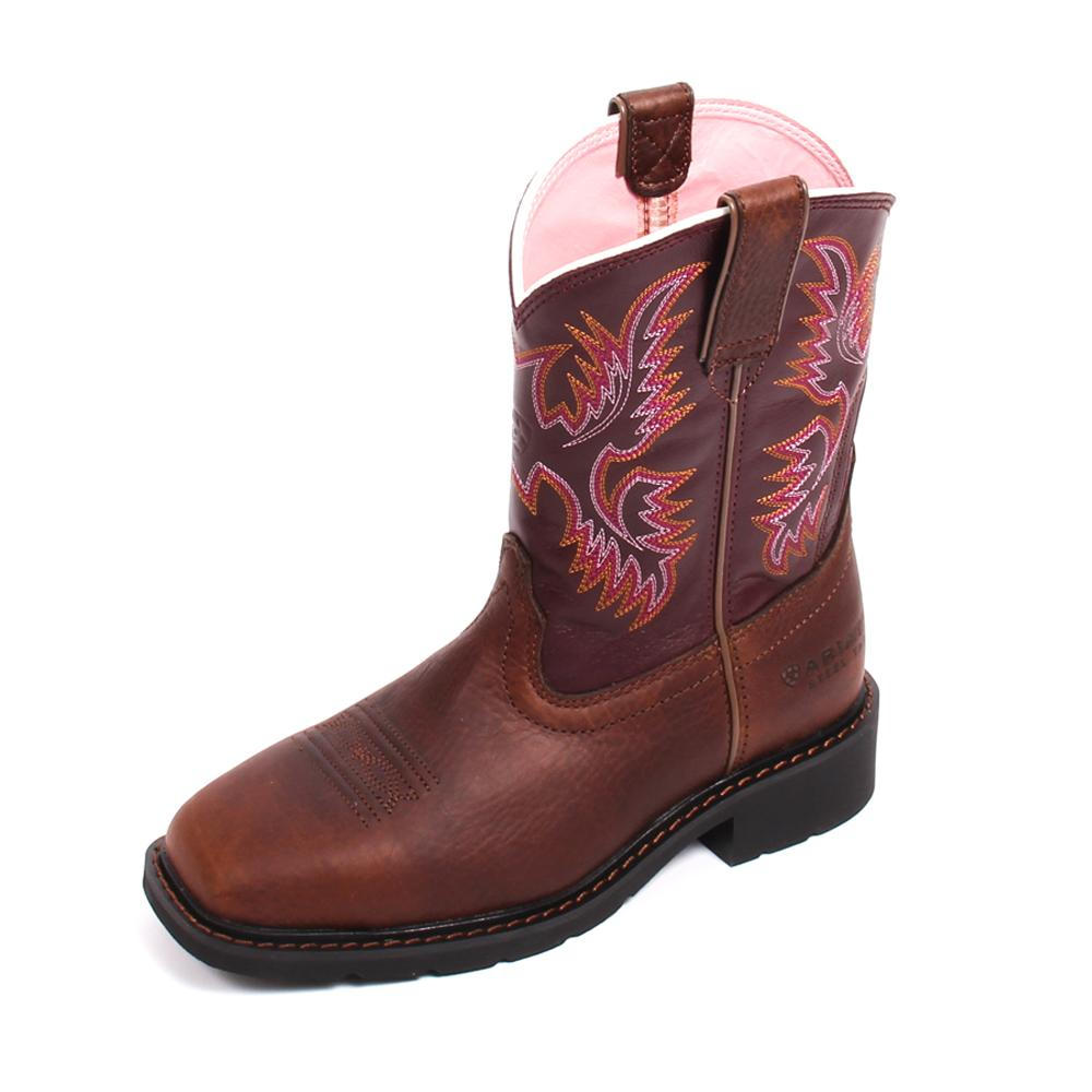ariat krista pull on womens work boots