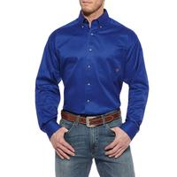Ariat Solid Twill Mens Button Shirt