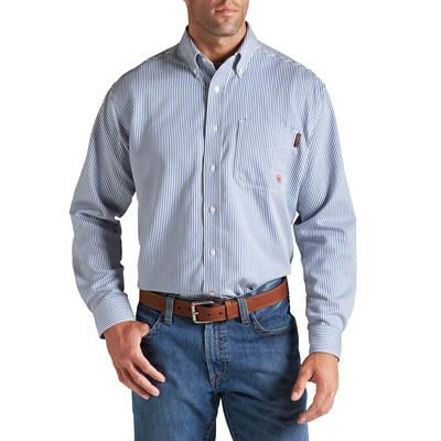 Ariat Men's FR Blue Stripe Work Shirt