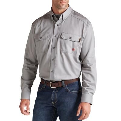 Ariat Men's Silver Fox FR Solid Work Shirt