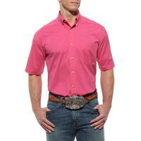 Ariat Mens Solid Performance Poplin Shirt